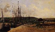 Charles-Francois Daubigny Fishing Port oil painting picture wholesale