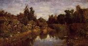 Charles-Francois Daubigny The Water's Edge oil painting picture wholesale