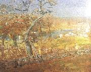 Childe Hassam Late Afternoon oil painting picture wholesale