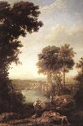 Claude Lorrain Landscape with the Finding of Moses sdfg oil painting picture wholesale