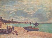 Claude Monet Beach at Sainte-Adresse oil painting picture wholesale