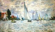 Claude Monet The Barks Regatta at Argenteuil oil painting picture wholesale