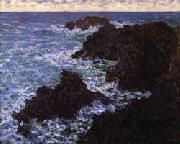 Claude Monet The Rocks of Belle -Ile oil painting picture wholesale