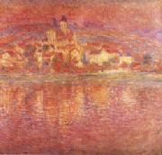 Claude Monet Vetheuil Setting Sun oil painting picture wholesale