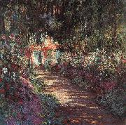 Claude Monet The Garden in Flower oil painting picture wholesale