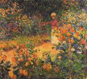Claude Monet Garden Path at Giverny oil painting picture wholesale