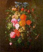Cornelis de Heem Still Life with Flowers oil painting artist