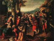Correggio The Adoration of the Magi fg oil painting picture wholesale