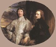 DYCK, Sir Anthony Van Sir Endymion Porter and the Artist dfh oil painting picture wholesale
