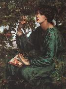 Dante Gabriel Rossetti The Day Dream oil painting artist