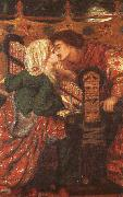 Dante Gabriel Rossetti King Rene's Honeymoon oil painting picture wholesale