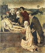 Dieric Bouts The Entombment oil painting artist