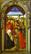 Dieric Bouts The Adoration of Magi. oil painting artist