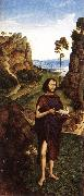 Dieric Bouts St John the Baptist oil painting artist