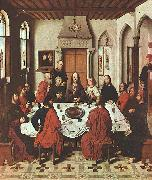 Dieric Bouts The Last Supper oil painting picture wholesale