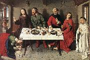 Dieric Bouts Christ in the House of Simon oil painting artist