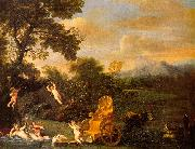 Domenichino The Repose of Venus oil painting artist