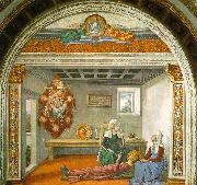 Domenico Ghirlandaio Announcement of Death to Saint Fina oil painting picture wholesale