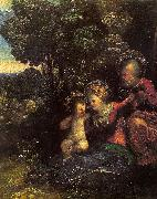 Dosso Dossi The Rest on the Flight into Egypt_4 oil painting picture wholesale