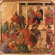Duccio di Buoninsegna Slaughter of the Innocents oil painting picture wholesale
