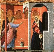 Duccio di Buoninsegna Annunciation oil painting picture wholesale