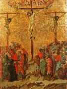 Duccio di Buoninsegna Crucifixion oil painting picture wholesale