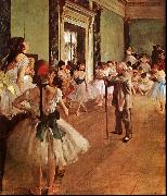 Edgar Degas The Dance Class oil painting picture wholesale