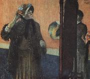 Edgar Degas At the Milliner's_m oil painting picture wholesale
