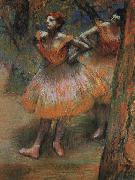 Edgar Degas Two Dancers_j oil painting picture wholesale