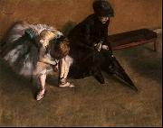 Edgar Degas Waiting oil painting picture wholesale