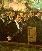 Edgar Degas The Orchestra of the Opera oil painting picture wholesale