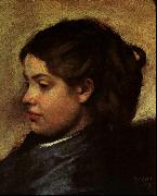 Edgar Degas Madamoiselle Dobigny oil painting picture wholesale