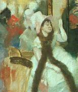 Edgar Degas Portrait after a Costume Ball oil painting picture wholesale