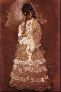 Edgar Degas Woman with Opera Glasses oil painting picture wholesale