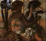 Edgar Degas At the Milliner's oil painting picture wholesale