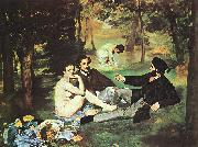Edouard Manet Luncheon on the Grass oil painting picture wholesale