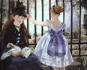 Edouard Manet Gare St.Lazare oil painting picture wholesale