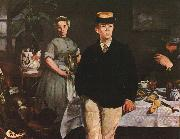 Edouard Manet The Luncheon in the Studio oil painting picture wholesale