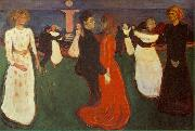 Edvard Munch The Dance of Life oil painting picture wholesale