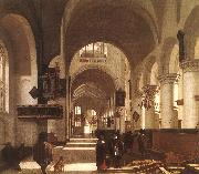 Emmanuel de Witte Interior of a Church oil painting picture wholesale
