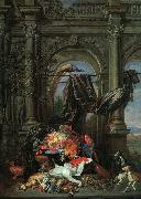 Erasmus Quellinus Still Life in an Architectural Setting oil painting picture wholesale