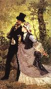Ernest Duez Honeymoon oil painting picture wholesale
