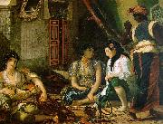 Eugene Delacroix Woman of Algiers in their Apartment oil painting picture wholesale