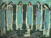 Ferdinand Hodler The Chosen One oil painting artist