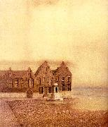 Fernand Khnopff The Abandoned Town oil painting picture wholesale