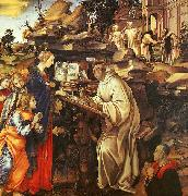 Filippino Lippi The Vision of St.Bernard oil painting picture wholesale