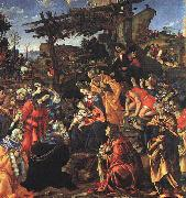 Filippino Lippi The Adoration of the Magi oil painting picture wholesale