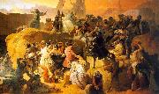 Francesco Hayez Crusaders Thirsting near Jerusalem oil painting picture wholesale