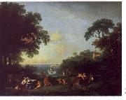 Francesco Zuccarelli Landscape with the Rape of Europa oil painting picture wholesale
