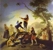 Francisco Jose de Goya La cometa(Kite) oil painting artist